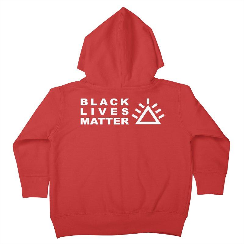 Black Lives Matter PRU Kids Toddler Zip-Up Hoody by punkrockandufos's Artist Shop