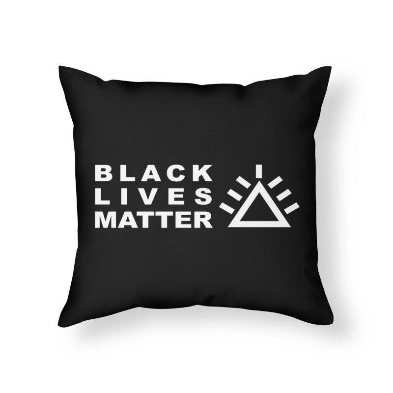 Black Lives Matter PRU Home Throw Pillow by punkrockandufos's Artist Shop