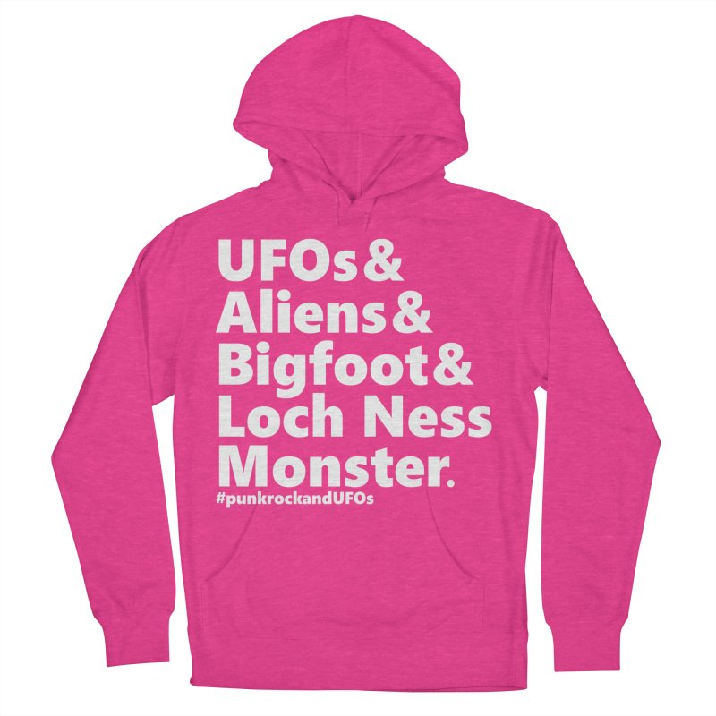 """Punk rock and UFOs """"Family""""  Women's French Terry Pullover Hoody by punkrockandufos's Artist Shop"""