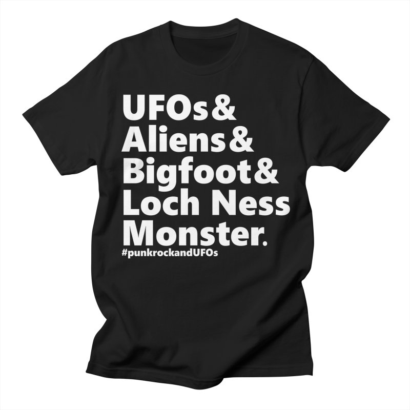 "Punk rock and UFOs ""Family""  Men's T-Shirt by punkrockandufos's Artist Shop"