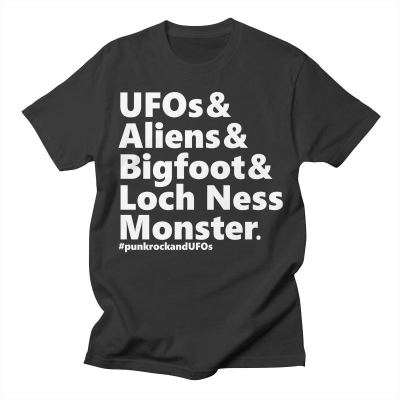 """Punk rock and UFOs """"Family""""  Women's Regular Unisex T-Shirt by punkrockandufos's Artist Shop"""