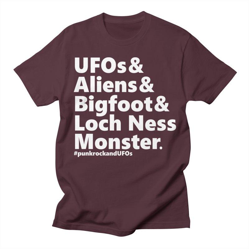 """Punk rock and UFOs """"Family""""  Men's T-Shirt by punkrockandufos's Artist Shop"""