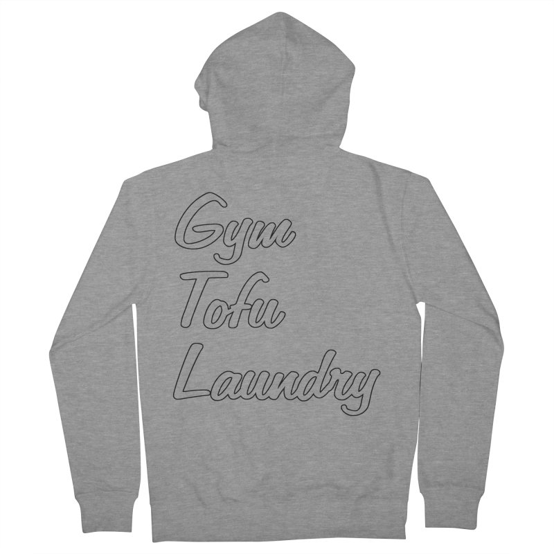GTL Women's French Terry Zip-Up Hoody by punkrockandufos's Artist Shop