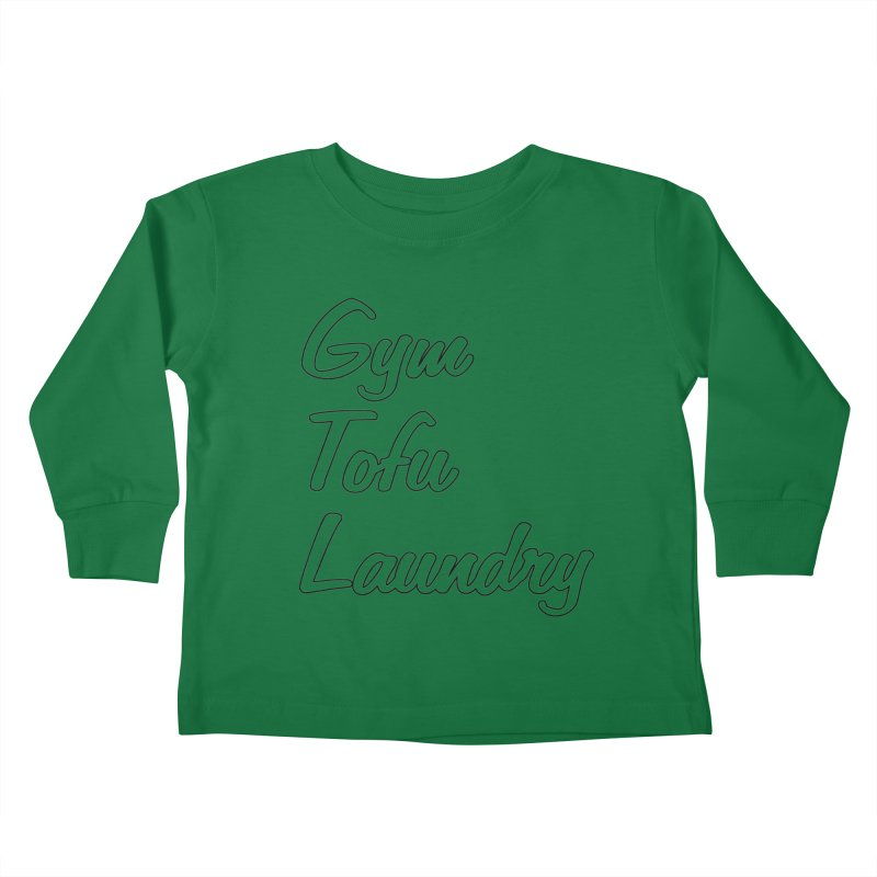 GTL Kids Toddler Longsleeve T-Shirt by punkrockandufos's Artist Shop