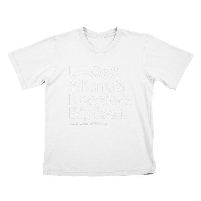 Family Pt.2 Kids T-Shirt by punkrockandufos's Artist Shop
