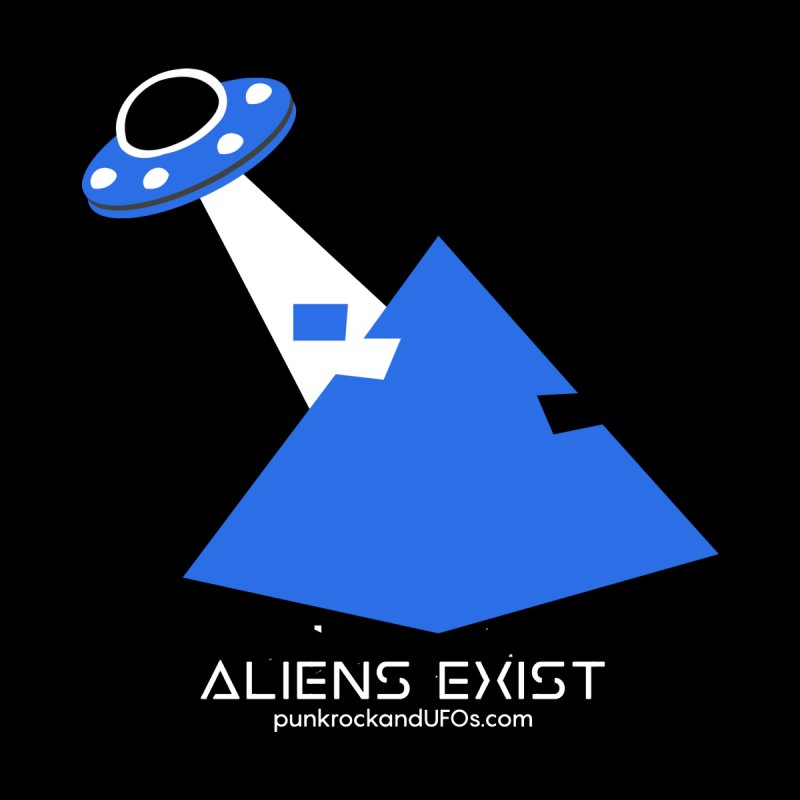 Aliens Exist 2 Men's T-Shirt by punkrockandufos's Artist Shop