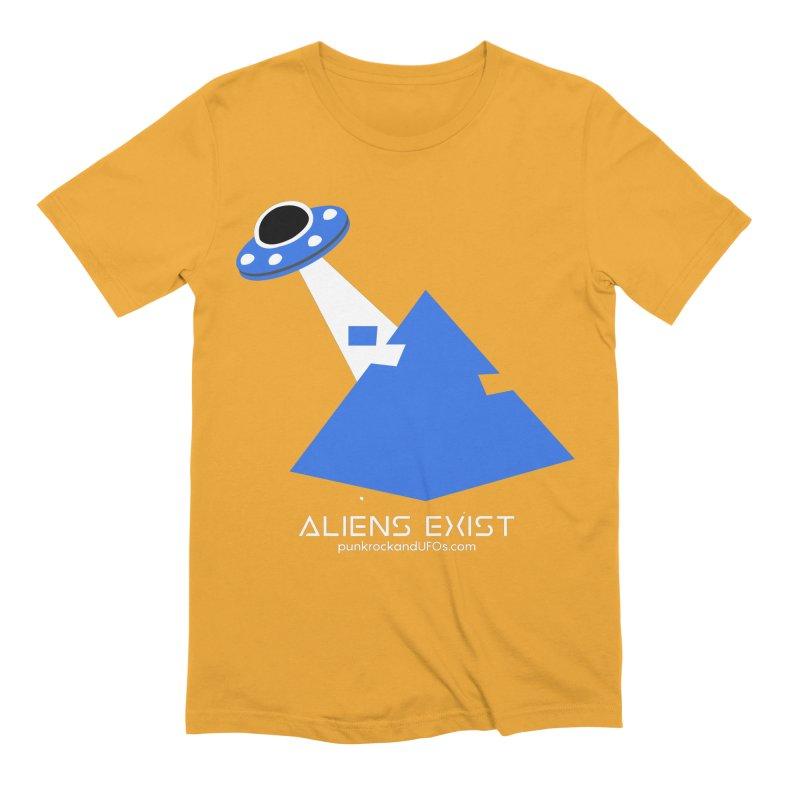 Aliens Exist 2 Men's T-Shirt by punkrockandufos's Artist Shop