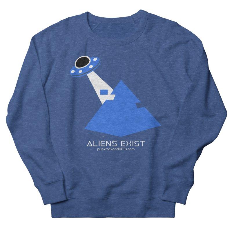 Aliens Exist 2 Men's Sweatshirt by punkrockandufos's Artist Shop