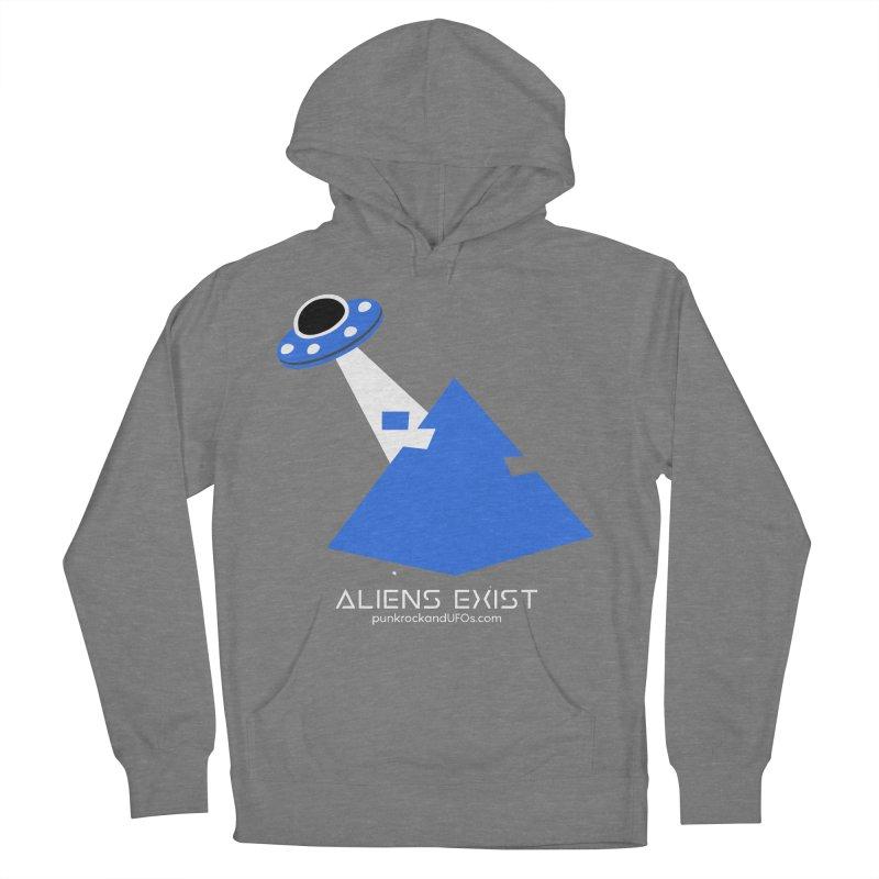 Aliens Exist 2 Women's Pullover Hoody by punkrockandufos's Artist Shop