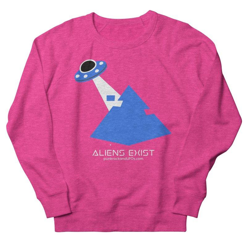 Aliens Exist 2 Women's French Terry Sweatshirt by punkrockandufos's Artist Shop