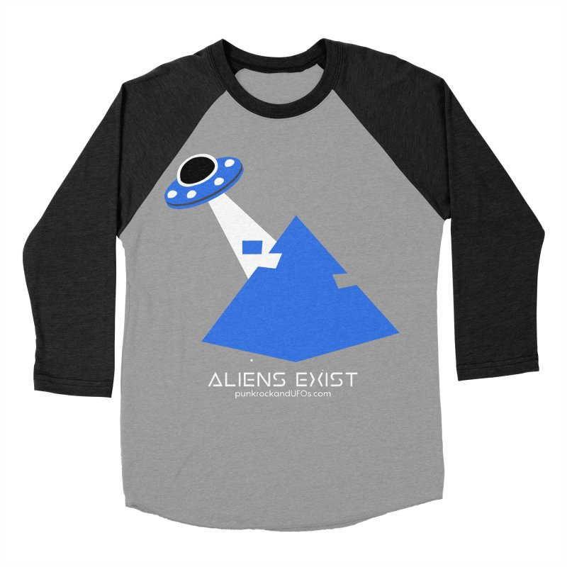 Aliens Exist 2 Women's Baseball Triblend Longsleeve T-Shirt by punkrockandufos's Artist Shop