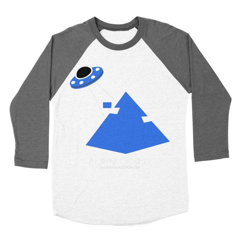 Aliens Exist 2 Men's Baseball Triblend Longsleeve T-Shirt by punkrockandufos's Artist Shop
