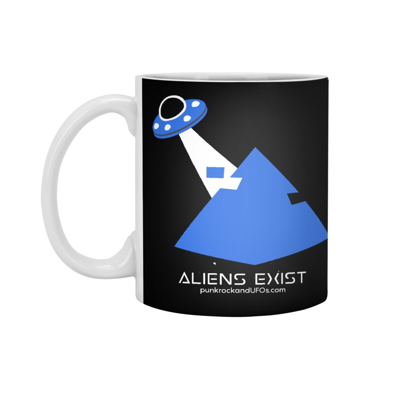 Aliens Exist 2 Accessories Mug by punkrockandufos's Artist Shop