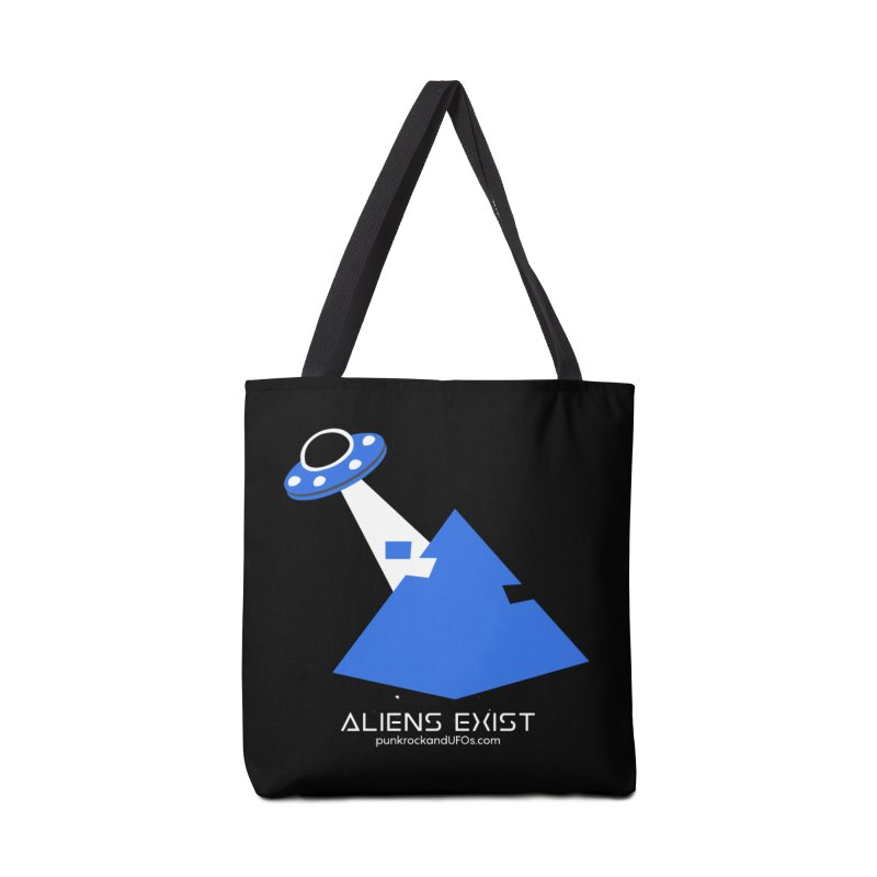 Aliens Exist 2 Accessories Bag by punkrockandufos's Artist Shop