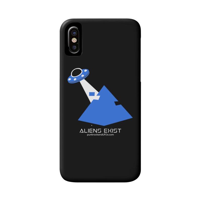 Aliens Exist 2 Accessories Phone Case by punkrockandufos's Artist Shop