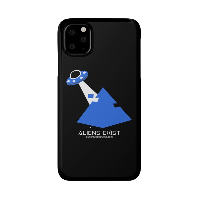 Aliens Exist 2 Accessories Phone Case by punkrockandufos's Artist Shop