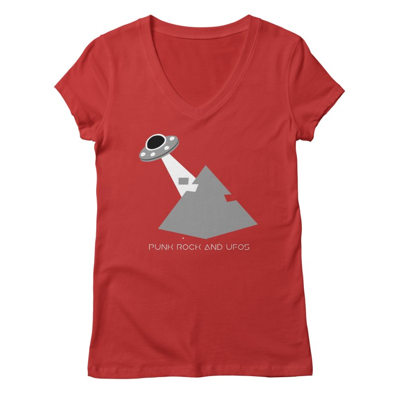 The Grays Women's Regular V-Neck by punkrockandufos's Artist Shop