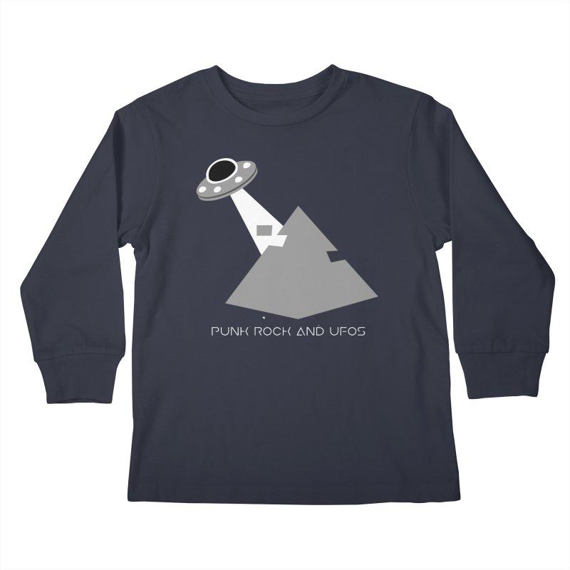 The Grays Kids Longsleeve T-Shirt by punkrockandufos's Artist Shop