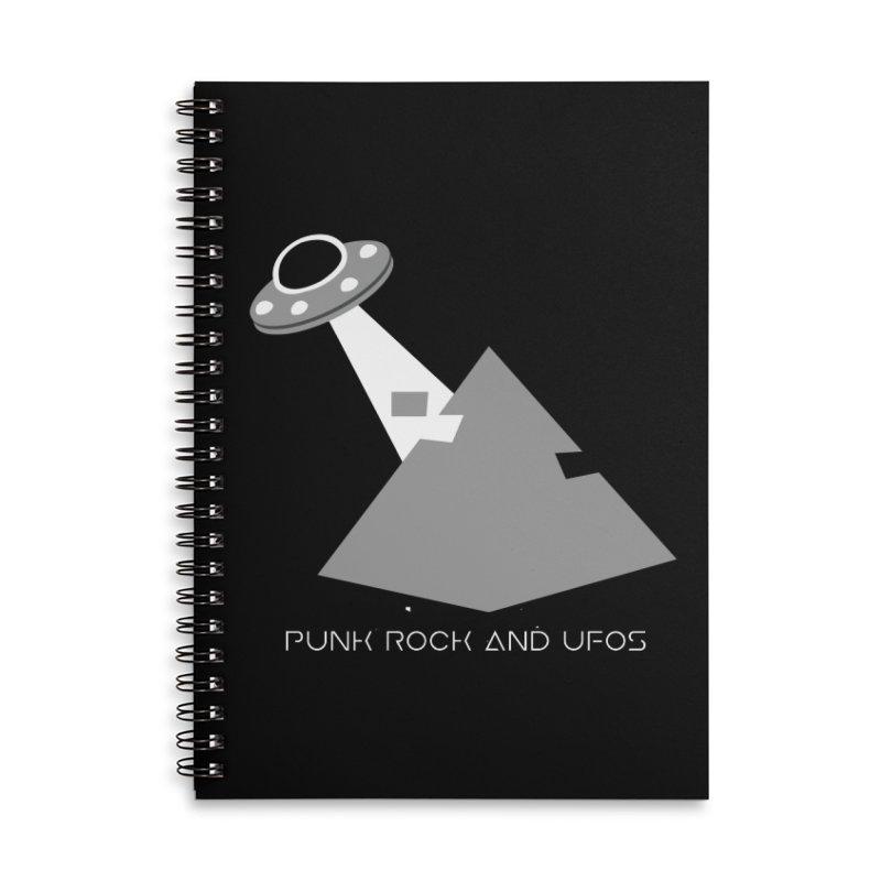 The Grays Accessories Lined Spiral Notebook by punkrockandufos's Artist Shop