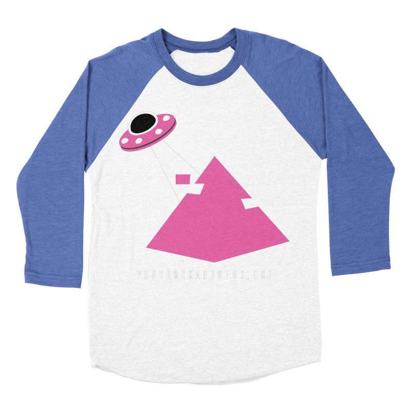 Dot com Men's Baseball Triblend Longsleeve T-Shirt by punkrockandufos's Artist Shop