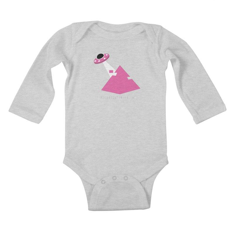 Dot com Kids Baby Longsleeve Bodysuit by punkrockandufos's Artist Shop