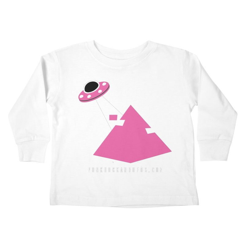 Dot com Kids Toddler Longsleeve T-Shirt by punkrockandufos's Artist Shop