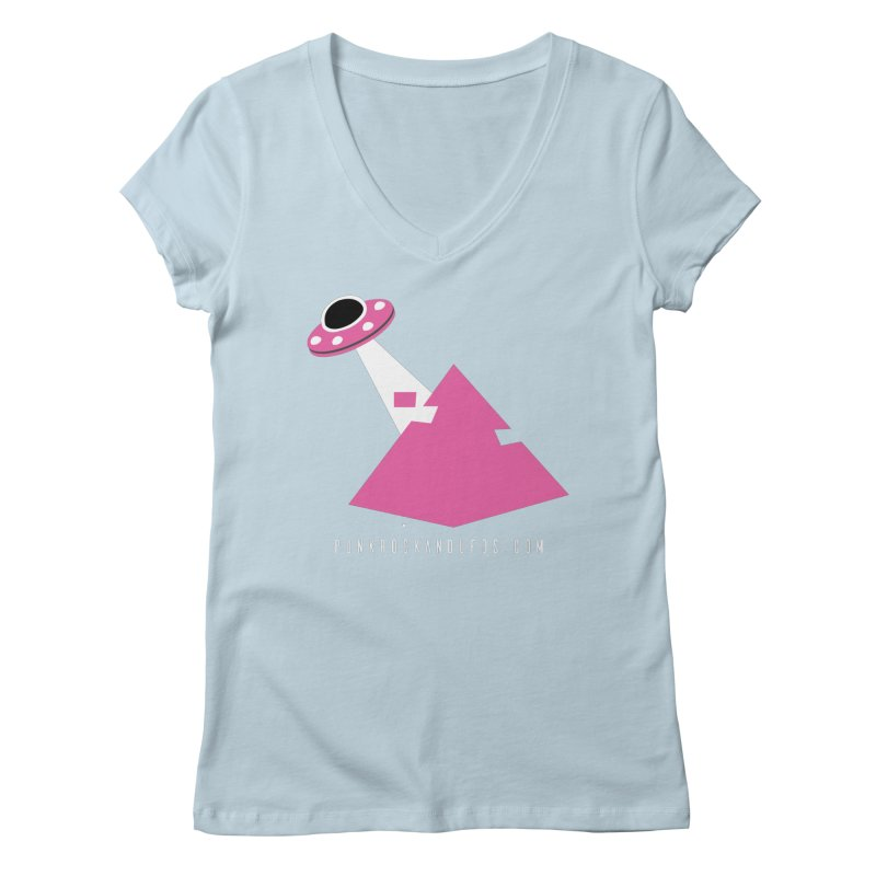 Dot com Women's Regular V-Neck by punkrockandufos's Artist Shop