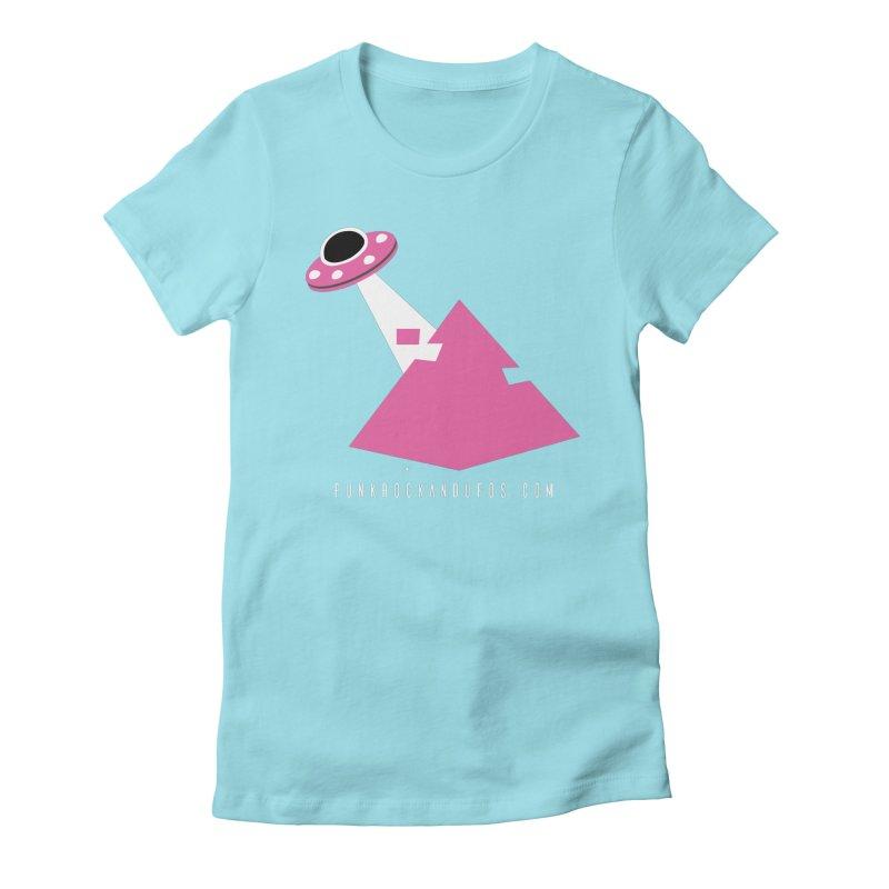 Dot com Women's Fitted T-Shirt by punkrockandufos's Artist Shop
