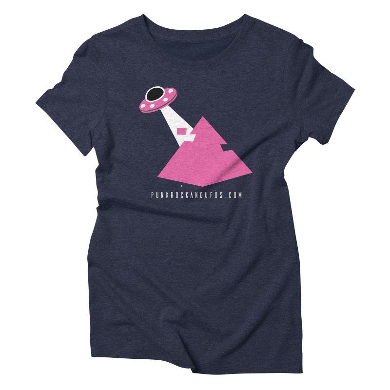 Dot com Women's Triblend T-Shirt by punkrockandufos's Artist Shop