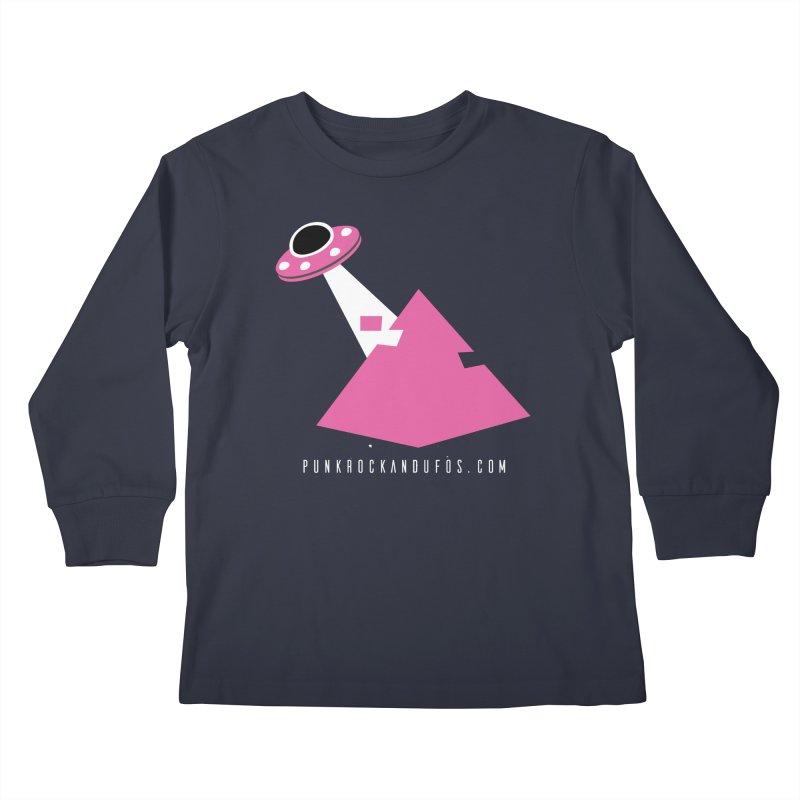 Dot com Kids Longsleeve T-Shirt by punkrockandufos's Artist Shop