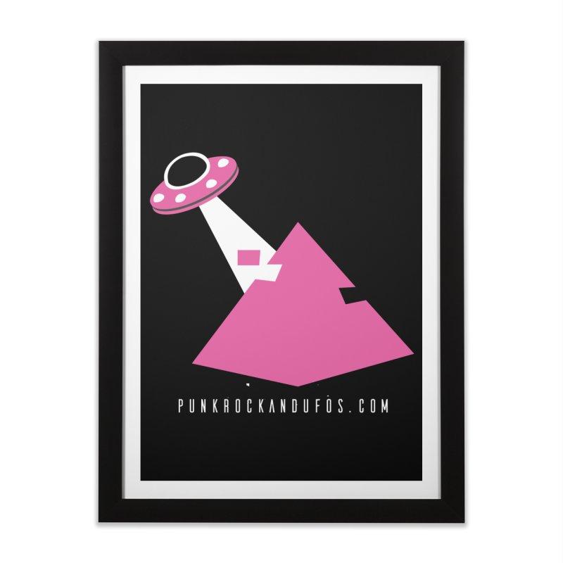 Dot com Home Framed Fine Art Print by punkrockandufos's Artist Shop