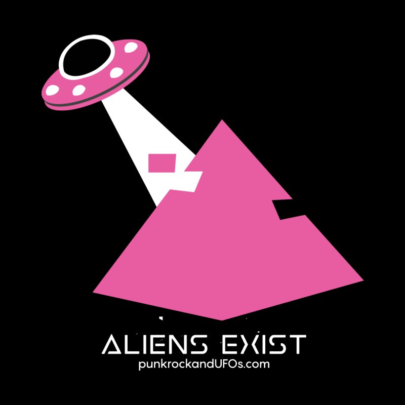Aliens Exist Men's V-Neck by punkrockandufos's Artist Shop
