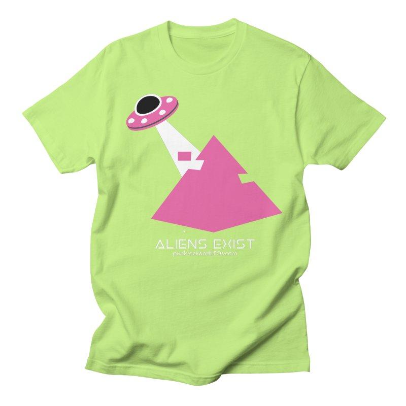 Aliens Exist Women's Regular Unisex T-Shirt by punkrockandufos's Artist Shop