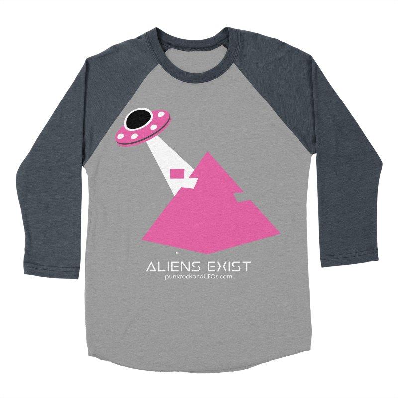 Aliens Exist Women's Baseball Triblend Longsleeve T-Shirt by punkrockandufos's Artist Shop