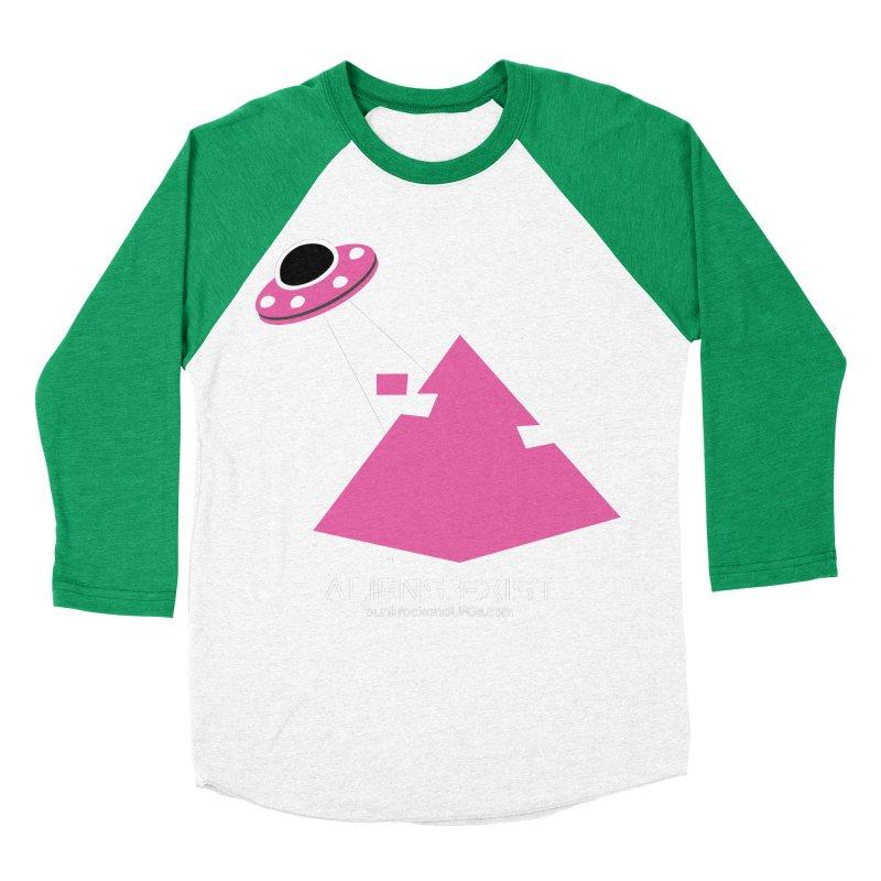 Aliens Exist Men's Baseball Triblend Longsleeve T-Shirt by punkrockandufos's Artist Shop
