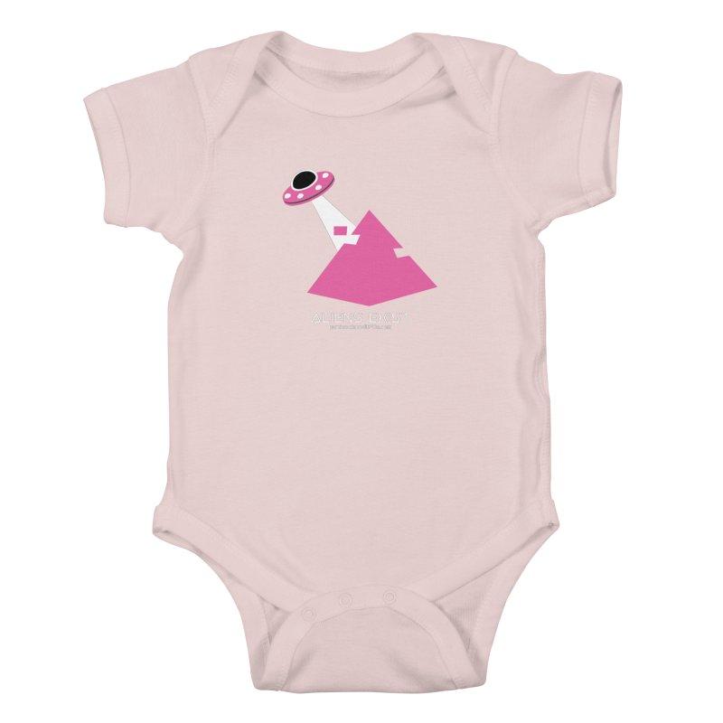 Aliens Exist Kids Baby Bodysuit by punkrockandufos's Artist Shop