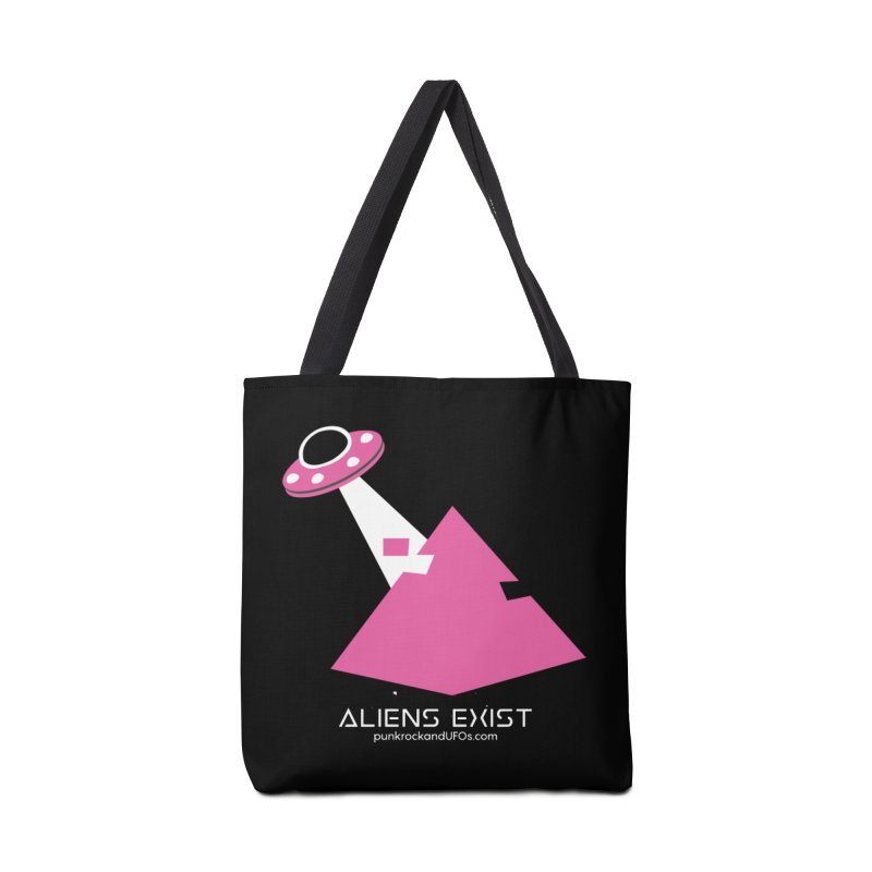 Aliens Exist Accessories Tote Bag Bag by punkrockandufos's Artist Shop