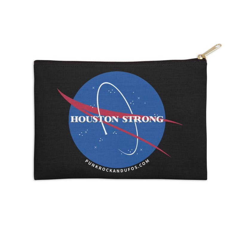 Houston Relief shirt  Accessories Zip Pouch by punkrockandufos's Artist Shop