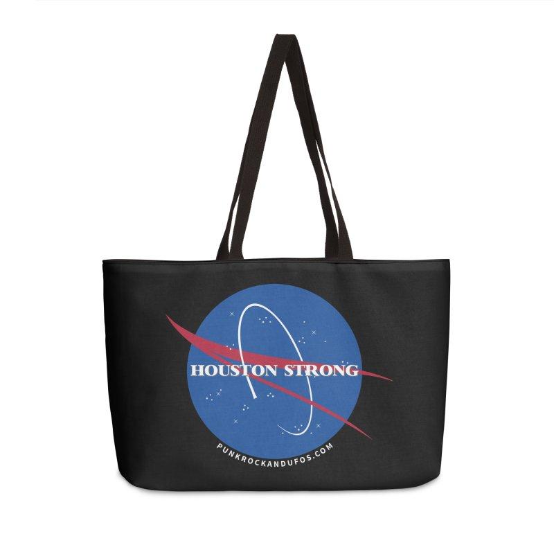 Houston Relief shirt  Accessories Weekender Bag Bag by punkrockandufos's Artist Shop