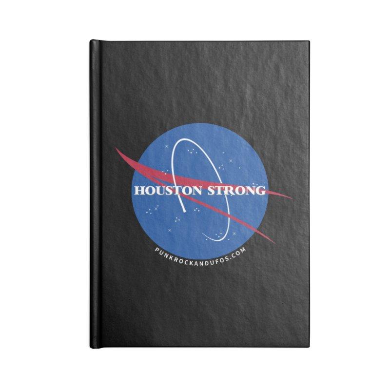 Houston Relief shirt  Accessories Blank Journal Notebook by punkrockandufos's Artist Shop