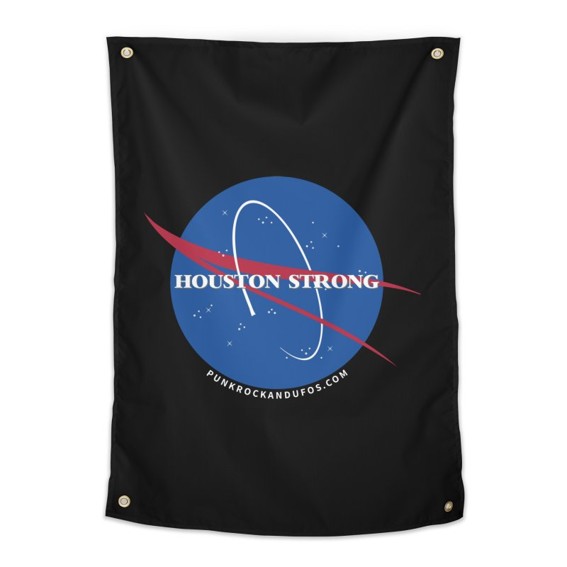 Houston Relief shirt  Home Tapestry by punkrockandufos's Artist Shop