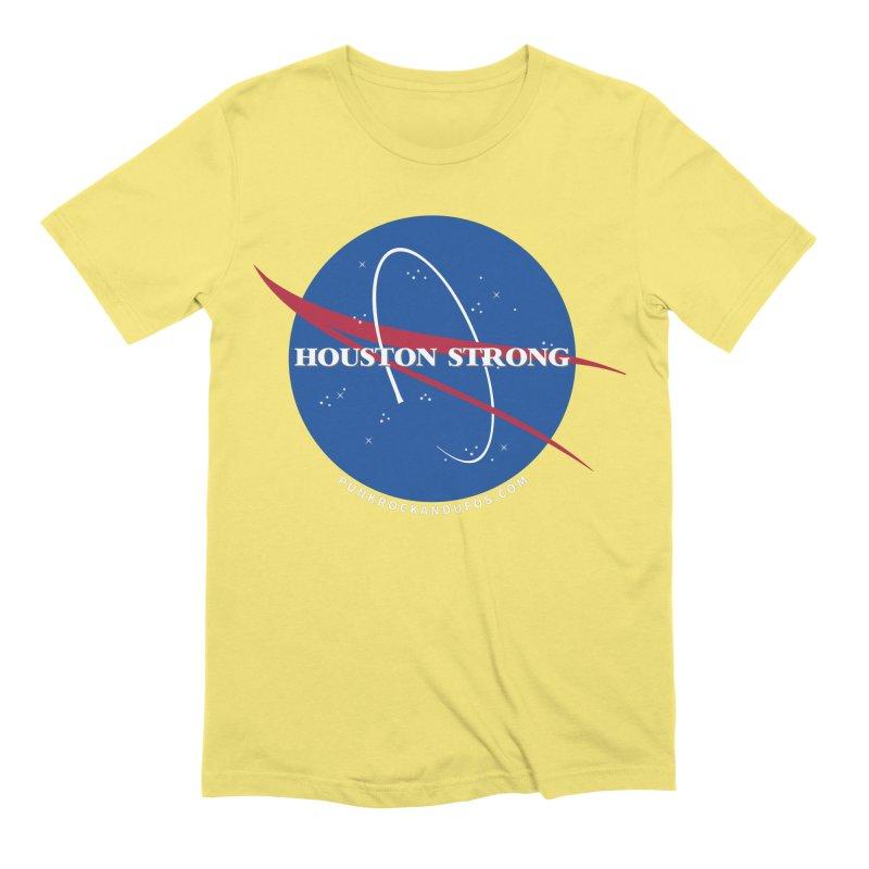 Houston Relief shirt  Men's Extra Soft T-Shirt by punkrockandufos's Artist Shop