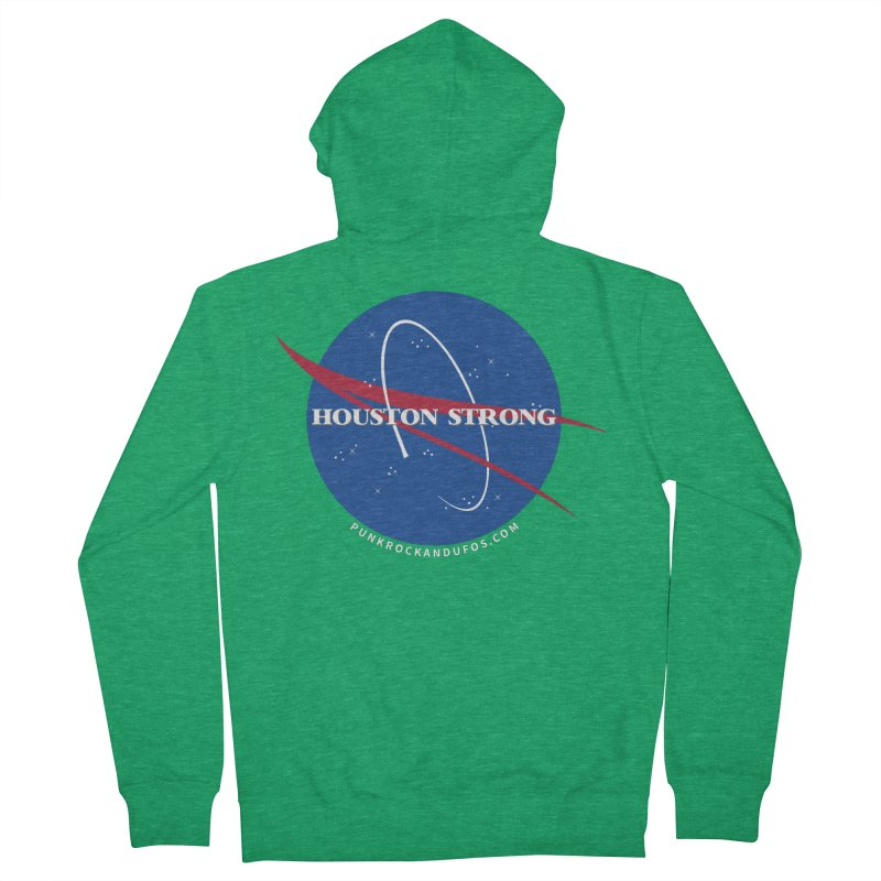 Houston Relief shirt  Women's Zip-Up Hoody by punkrockandufos's Artist Shop