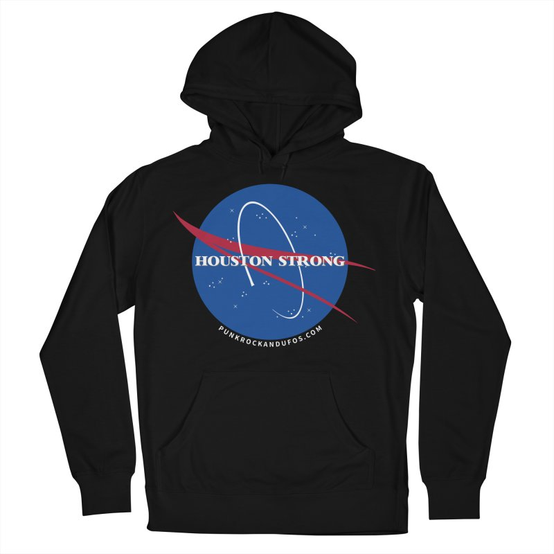 Houston Relief shirt  Women's French Terry Pullover Hoody by punkrockandufos's Artist Shop