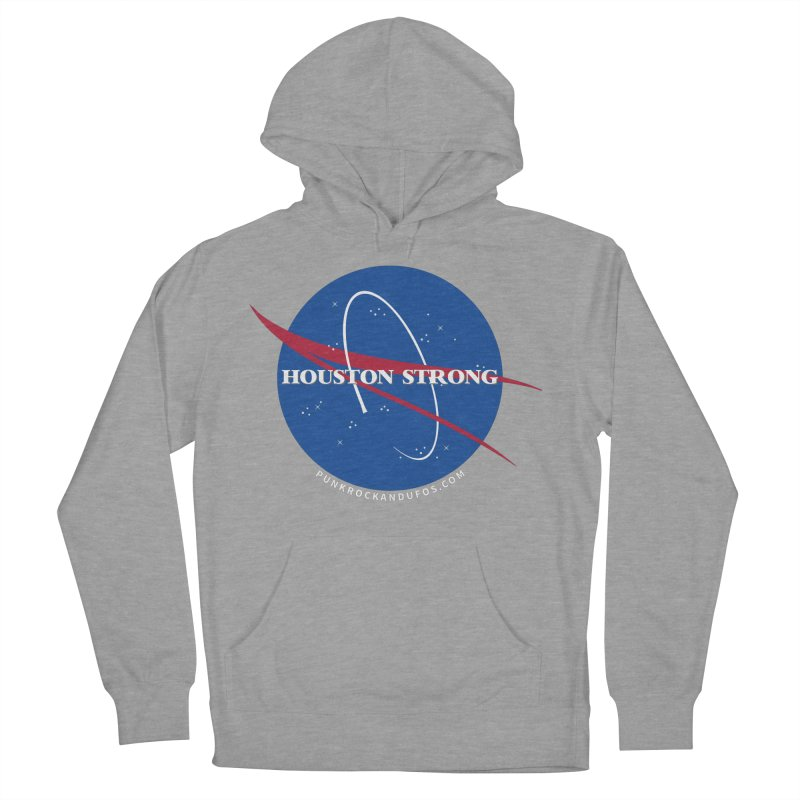 Houston Relief shirt  Men's French Terry Pullover Hoody by punkrockandufos's Artist Shop