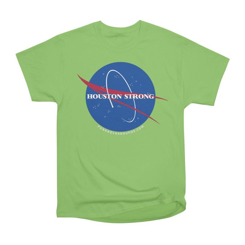Houston Relief shirt  Men's Heavyweight T-Shirt by punkrockandufos's Artist Shop
