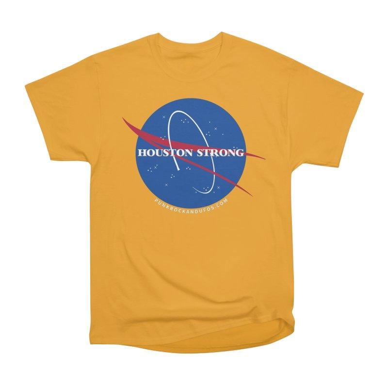 Houston Relief shirt  Women's Heavyweight Unisex T-Shirt by punkrockandufos's Artist Shop