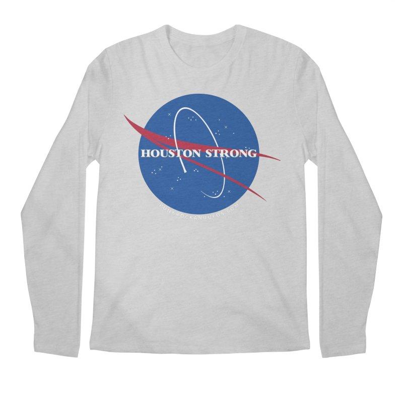 Houston Relief shirt  Men's Regular Longsleeve T-Shirt by punkrockandufos's Artist Shop