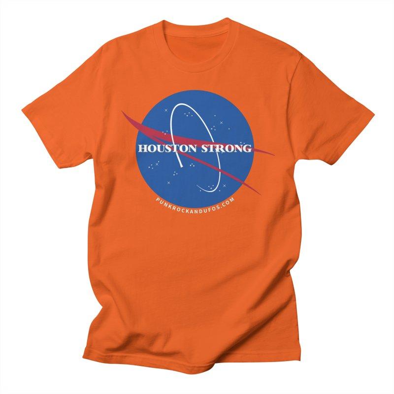 Houston Relief shirt  Men's T-Shirt by punkrockandufos's Artist Shop