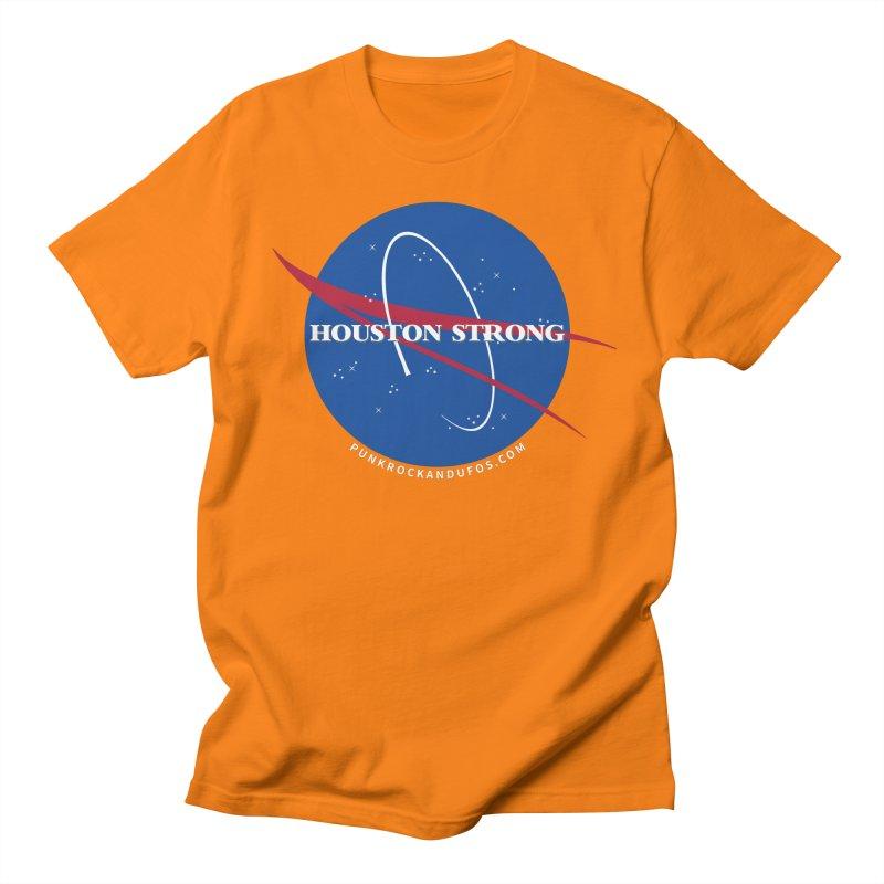 Houston Relief shirt  Men's Regular T-Shirt by punkrockandufos's Artist Shop